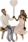 """Декоративна статуетка """"Amore"""" 16.5х8.5х24см, полистоун"""