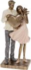 """Декоративная статуэтка """"Amore"""" 11.5х8х25.5см, полистоун"""
