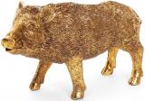 """Декоративна статуетка """"Золотий кабанчик"""" 9.5х7х11.5см"""