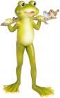 Статуэтка «Лягушонок Кваки» 13х10.5х22см, полистоун
