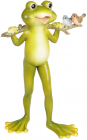 Статуетка «Жабеня Квакі» 13х10.5х22см, полістоун