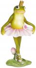 Статуэтка «Лягушка-балерина» 10.5х9х19см, полистоун
