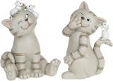"""Декоративна статуетка """"Кішки-Мишки"""" 6.5х6х9см полістоун"""