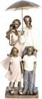 """Декоративна статуетка """"Сімейна ідилія"""" 17х10.5х33.5см, полістоун"""