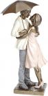"""Декоративна статуетка """"Закохані"""" 17х17х42см, полістоун"""