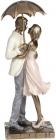 """Декоративна статуетка """"Закохані"""" 11.5х10.5х28см, полістоун"""