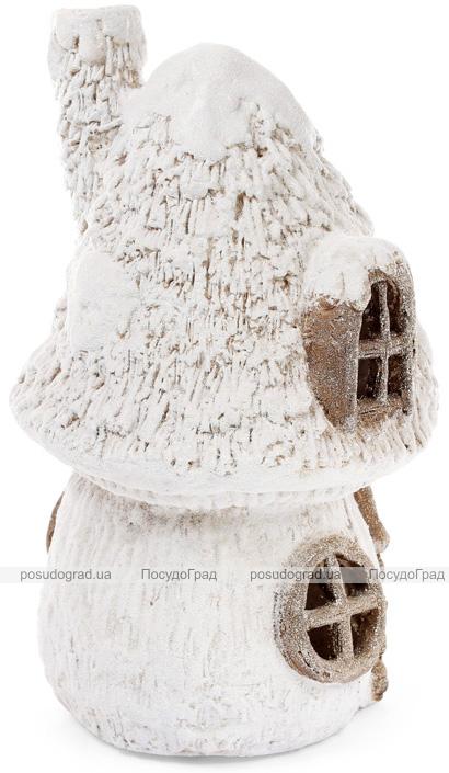 """Декоративна фігура з LED-підсвіткою """"Лісовий будинок"""" 27.5х22.5х42.5см"""