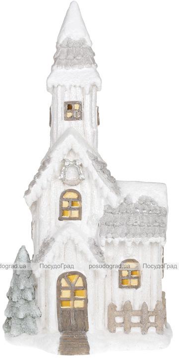 """Декор керамический """"Старый замок"""" с LED-подсветкой 74.8см"""