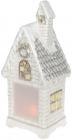 Декоративний «Зимній будиночок» з LED-підсвіткою 19.5х15.5х45.5см