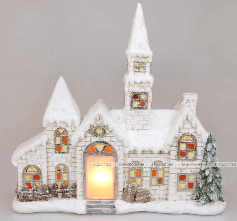 Декоративний «Старий замок» з LED-підсвіткою 50.5х16х43.5см, кераміка