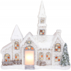 Декоративный «Старый замок» с LED-подсветкой 50.5х16х43.5см, керамика