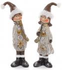 """Рождественская декоративная статуэтка """"Детки"""" 12.5см"""