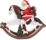 """Статуетка декоративна """"Санта на коні"""" 37см"""