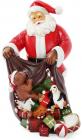 "Статуэтка декоративная ""Санта с подарками"" 32см"
