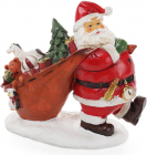 "Статуетка декоративна ""Санта з подарунками"" 23см"