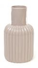 Керамічна ваза Stone Flower 19см кава з молоком