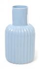 Керамическая ваза Stone Flower 19см голубая