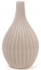 Керамічна ваза Stone Flower 25см кава з молоком