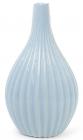 Керамическая ваза Stone Flower 25см голубая