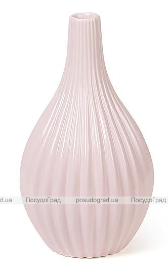 Керамическая ваза Stone Flower 25см розовая
