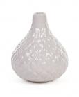 Керамическая ваза Stone Flower 12см серая