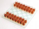 """Игра настольная """"Шахматы питейные"""" 25x25см (в наборе 32 стопки)"""