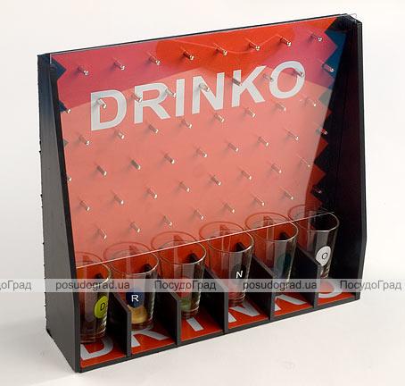 """Игра настольная """"Drinko"""" 28x7x25.5см (в наборе 6 стопок)"""