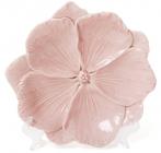 """Набір 3 декоративних блюда """"Рожева Квітка"""" 18.6х18х3см, фарфор"""