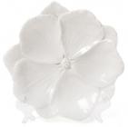 """Набір 3 декоративних блюда """"Біла Квітка"""" 18.6х18х3см, фарфор"""