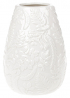 "Ваза керамічна ""Flore"" 15.3см, біла"