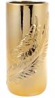 """Ваза керамічна """"Золоте перо"""" 21.4см"""