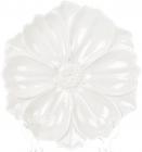 """Набір 3 декоративних тарілки """"Незабудка"""" 24см, кераміка, білі"""