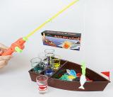 """Гра настільна """"Риболовля питейная"""" 41x9x16.7см (в наборі 6 стопок)"""