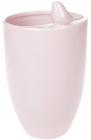 """Ваза керамічна """"Angeline"""" 22.7см, рожева"""
