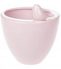 """Ваза-кашпо керамічна """"Angeline"""" 17.5см, рожева"""
