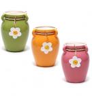 """Керамічна ваза Shabby Chic """"Ромашка"""" 18.5см"""
