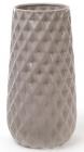 Ваза керамическая Stone Flower 31.5см, песочного цвета