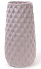 Ваза керамическая Stone Flower 31.5см, песочного цвета с розовым