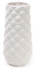 Ваза керамічна Stone Flower 24.5см, біла