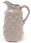 Кувшин керамический Stone Flower для напитков 1.8л, песочный