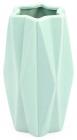 Ваза керамическая Stone Flower 18.5см, мятная