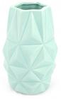 Ваза керамічна Stone Flower Абстракція 18.5см, м'ятна
