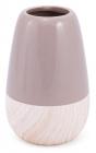 Керамическая ваза Stone Tree 18см, мокко