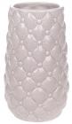 Ваза керамическая Stone Flower 17см, песочный розовый