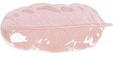 """Набір 6 блюд Goreidh """"Лист"""" 26.5х8.5см, кераміка, рожевий"""