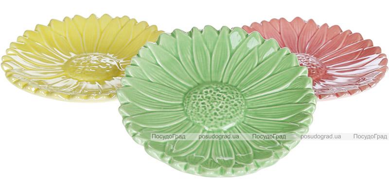 """Набір 6 декоративних тарілок """"Айстра"""" Ø15см, кераміка"""