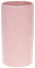 """Ваза """"Рожева Троянда"""" 12.1х12х21.9см керамічна рожева"""