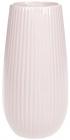 Ваза керамическая Jeffersonia Lanes 25см, розовая