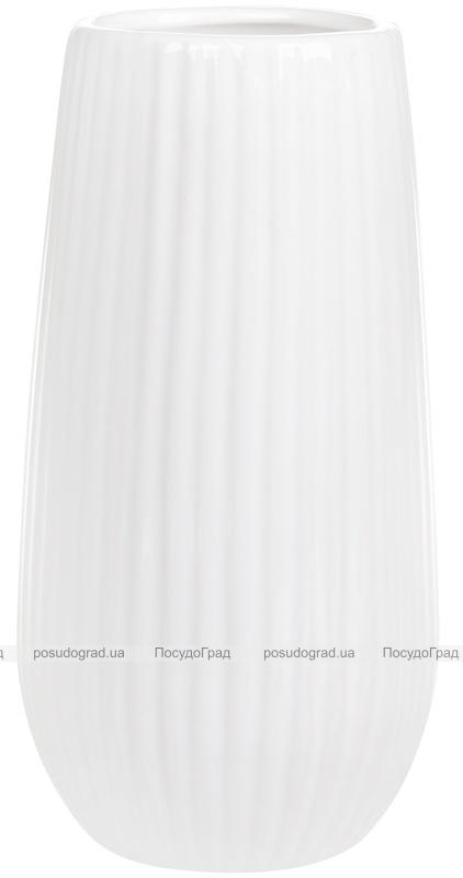 Ваза керамическая Jeffersonia Lanes 18.1см, белая