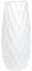 Ваза керамическая Jeffersonia Bubble 26.5см, белая